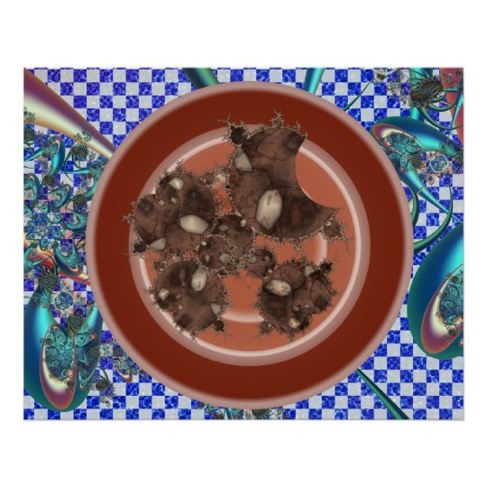 Mandelbrot Cookies Poster