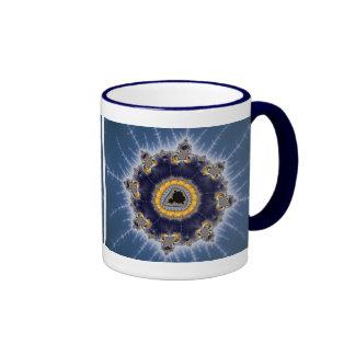 Mandelbrot de oro - taza del fractal