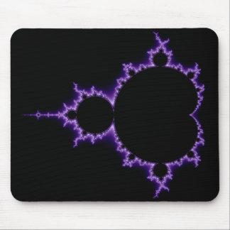 Mandelbrot eléctrico Mousepad determinado