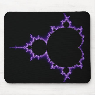Mandelbrot eléctrico Mousepad determinado Alfombrilla De Ratón