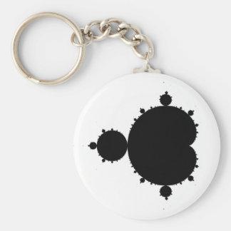 Mandelbrot Set 01 - Fractal Keychain