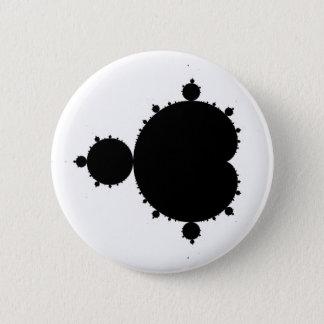 Mandelbrot Set 01 - Fractal Pinback Button