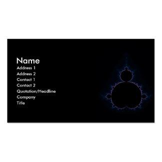 Mandelbrot Set 10 Double-Sided Standard Business Cards (Pack Of 100)