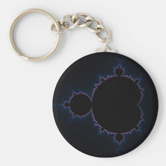 Mandelbrot Set 10 Keychain
