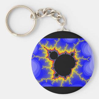 Mandelbrot Set Fractal Keychain