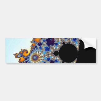 Mandelbrot Set Fractal Seahorse Bumper Sticker