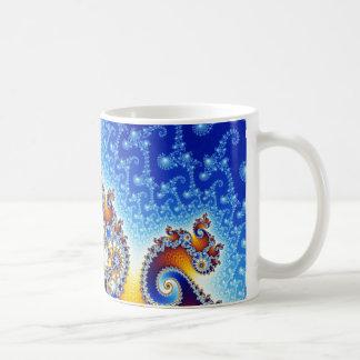 Mandelbrot Set Satellite Double Spiral Fractal Classic White Coffee Mug
