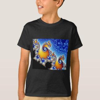 Mandelbrot Set Two-Dimensional Fractal Shape T-Shirt