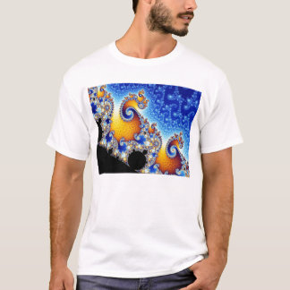 Mandelbrot Set Two-Dimensional Fractal Shape T-Shirt