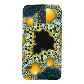 Mandelbrot Tea - Geometric Fractal Trippy Art Galaxy S5 Cases