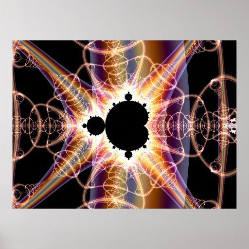 Mandelbrot: translúcido impresiones