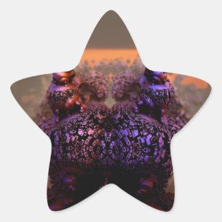 Mandelbulb-11 Star Sticker