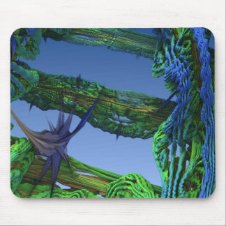 MANDELBULB 3D ABSTRACT MOUSE PAD