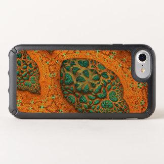 Mandelbulb fractal 3D pumpkin fiesta salad. Speck iPhone Case