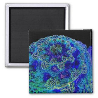 Mandelbulb fractal. Computer-generated image of Magnet
