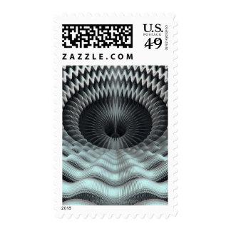 Mandelbulb Fractal Postage Stamp