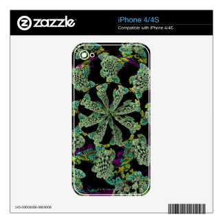 Mandelbulb Fractel 2 Decals For The iPhone 4S