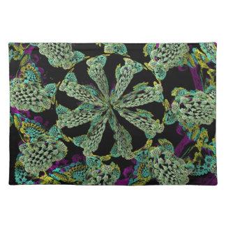 Mandelbulb Fractel 2 Cloth Place Mat
