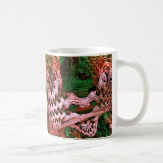 MANDELBULB UNDER SKULL COFFEE MUG