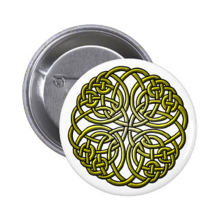 Mandella green 2 inch round button