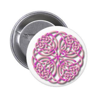 Mandella pink 2 inch round button