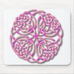 Mandella pink mouse pad