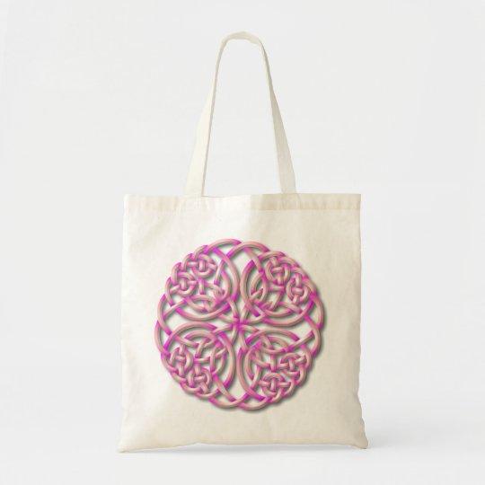 Mandella pink tote bag