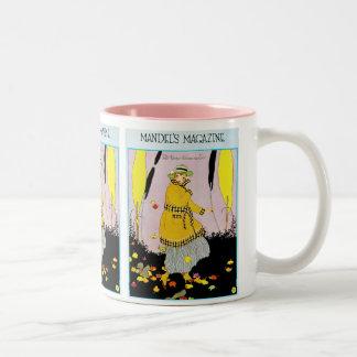 Mandel's Magazine Two-Tone Coffee Mug