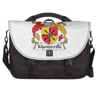 Mandeville Family Crest Laptop Commuter Bag