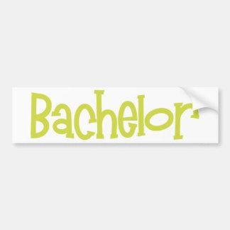 Mandi-Bachelor-Ylw Bumper Sticker