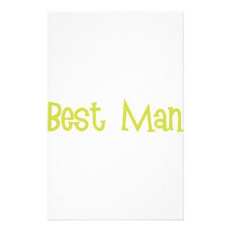 Mandi-BestMan-Ylw Stationery