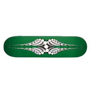 Mandible (Green) Skateboard Deck