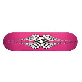 Mandible (Magenta) Skateboard Deck