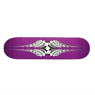 Mandible (Purple) Skateboard Deck