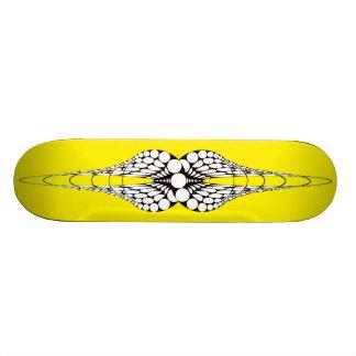 Mandible (Yellow) Skateboard Deck