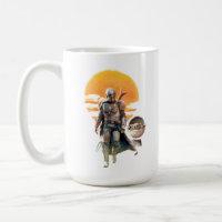 Mando and The Child | Sunset Walk Coffee Mug