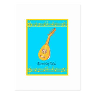 mandola postcard