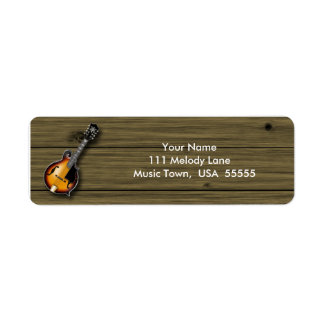 Mandolin Address Label