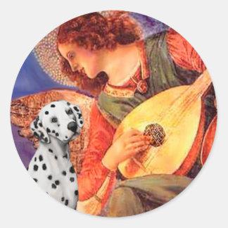 Mandolin Angel - Dalmatian Sticker