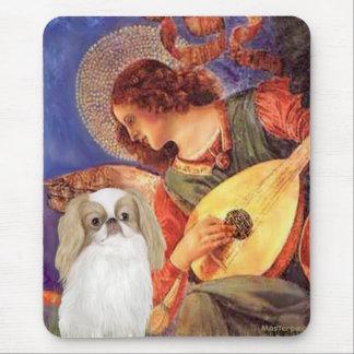 Mandolin Angel - Japanese Chin (L1) Mouse Pad