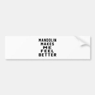 Mandolin Bumper Sticker