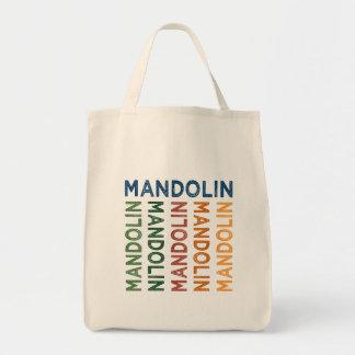 Mandolin Colorful Tote Bag