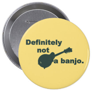 Mandolin -- Definitely Not A Banjo Button