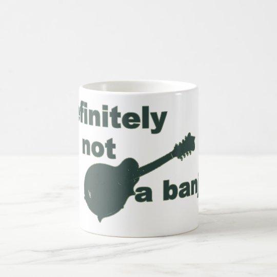 Mandolin -- Definitely Not A Banjo Coffee Mug