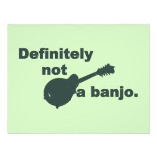 Mandolin -- Definitely Not A Banjo Flyer