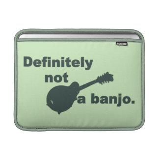 Mandolin -- Definitely Not A Banjo MacBook Sleeves