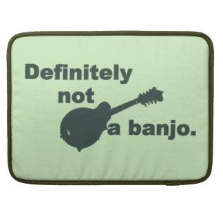 Mandolin -- Definitely Not A Banjo Sleeve For MacBooks