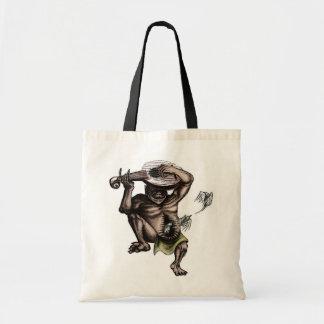 mandolin demon tote bag