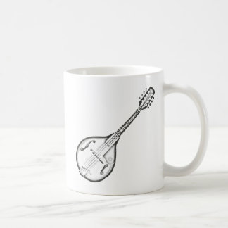 "Mandolin ""Drawing"" Coffee Mug"
