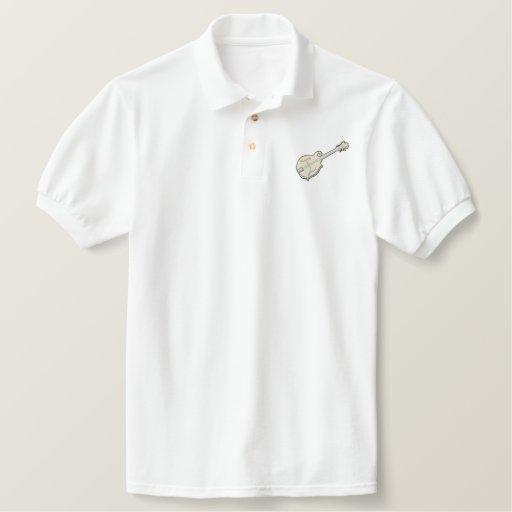 Mandolin Embroidered Polo Shirt